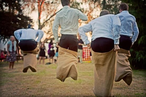 Outdoor Wedding Reception Activity Ideas