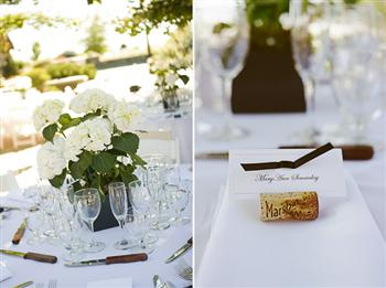 reception decoration table setting