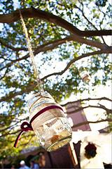 mason jar tree decoration