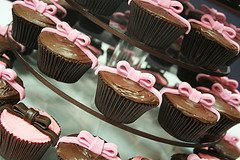 wedding cupcake chocolate