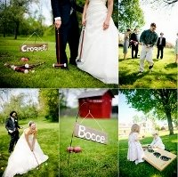 fun outdoor wedding ideas